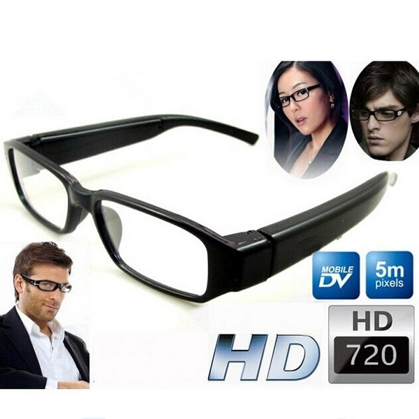 Picture of Mini Hd Spy Camera Glasses 720p Hidden Eyeglass Sunglasses Cam Eyewear Dv Dvr Digtal Video Recorder Cameras Camcorders 1280720