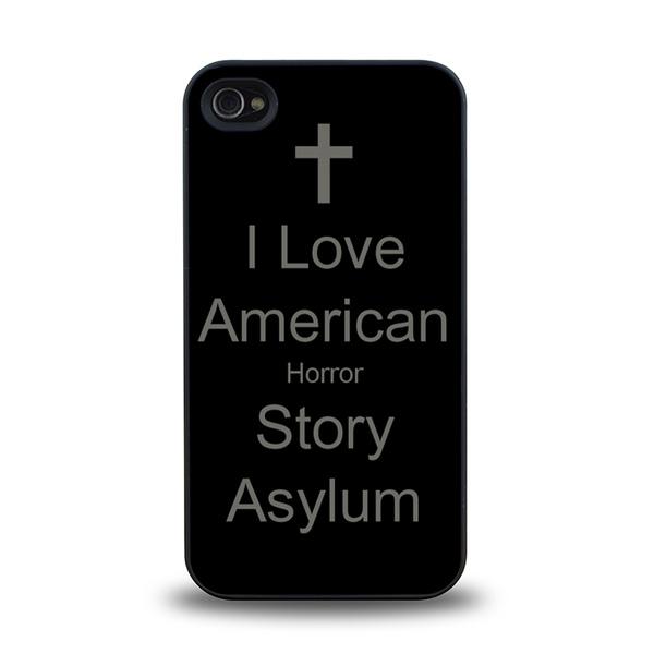 American Horror Story Asylum Coven Murder House Freak Show trendy Design  matt feel hard plastic iPhone 4, 4S, 5, 5S case back cover #20