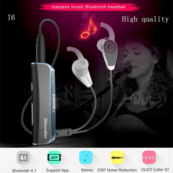 83b0613b058 High quality New Original Bluedio i6 Bluetooth 4.1 Wireless Headset ...