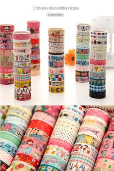Home Decor, decorativewashitape, korean style, Stickers