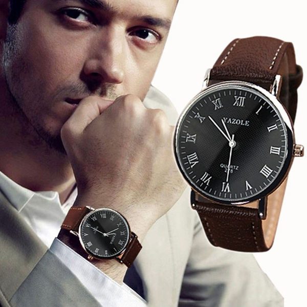 Picture of Luxury Fashion Faux Leather Quartz Analog Watch