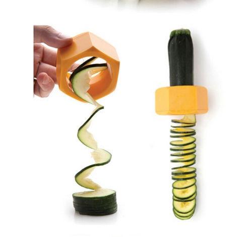 As Seen On TV Practical Creative Spiral Slicer Cucumber Melon Salad Kitchen Tool