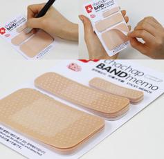 bandagestickerbookmark, stickynote, memostickynotespad, Bookmarks