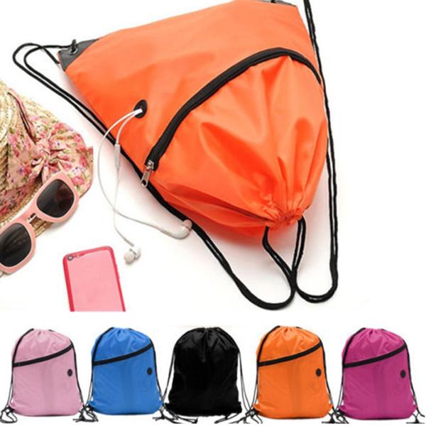 Picture of Liberty String Drawstring Backpack Tote Cinch Sack School Bag Bookbag Sport Pack