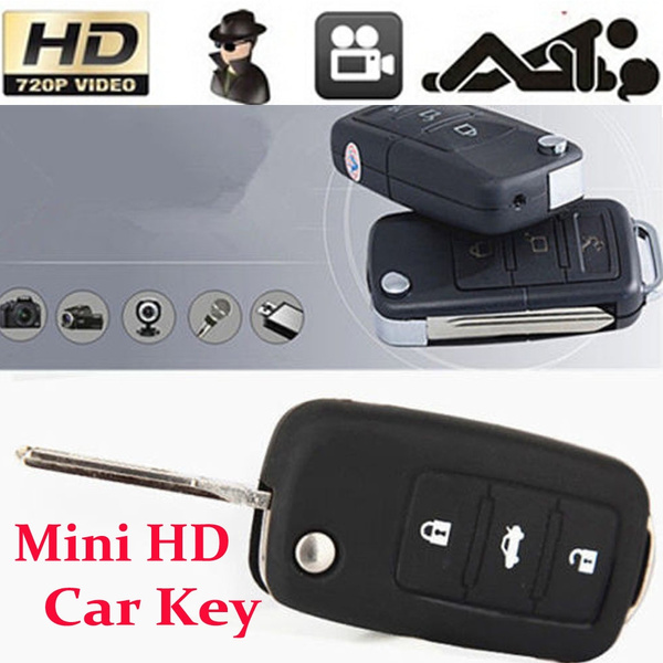 Picture of Mini Hd Key Chain Camera Video Recorder Dv Hidden Spy Car Key Dvr Camcorder