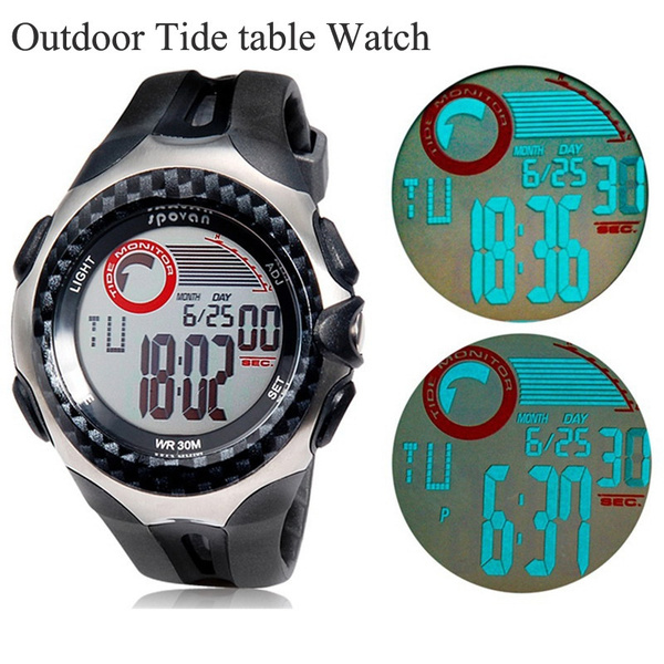 Professional Sports brand watches SPV-100 Multifunctional chronograph dual  time display men Tide Watch