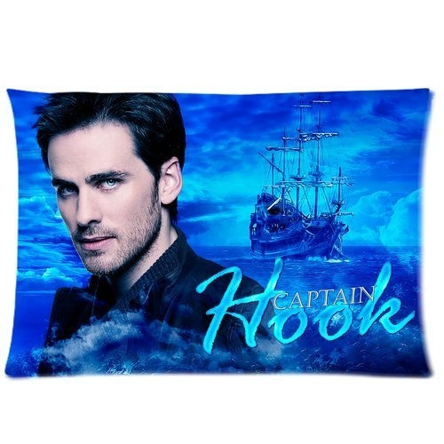 Colin O'donoghue Once Upon A Time Captain Hook Custom Cotton Pillowcase Standard Size 20*30 Id 04 by Wish
