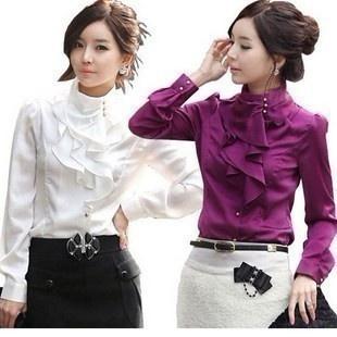 blouse, Fashion, ruffle, Shirt