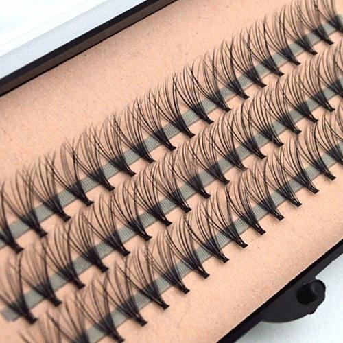 Picture of Women's Fashion 60 Clusters Makeup Individual Eye Lashes Grafting Fake False Eyelashes Hot Sale