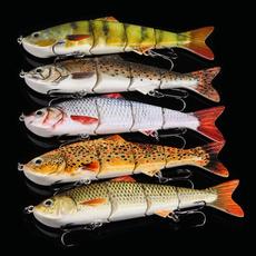 New Multi Jointed Fishing Lures Bait Swimbait Life-like Sinking Tackle 4.9