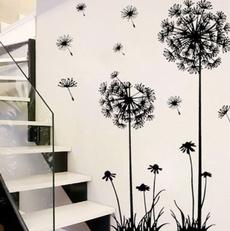 Fashion DIY Creative Dandelion Wall Art Decal Sticker Removable Mural PVC Home Decor