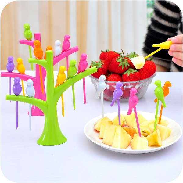 Kitchen & Dining, Snacks, cookingtoolsfruitfork, Dessert