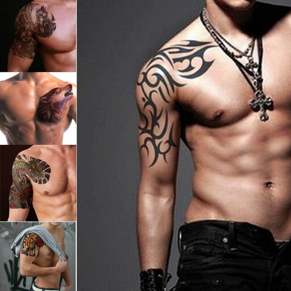 Male Tattoo Body Art