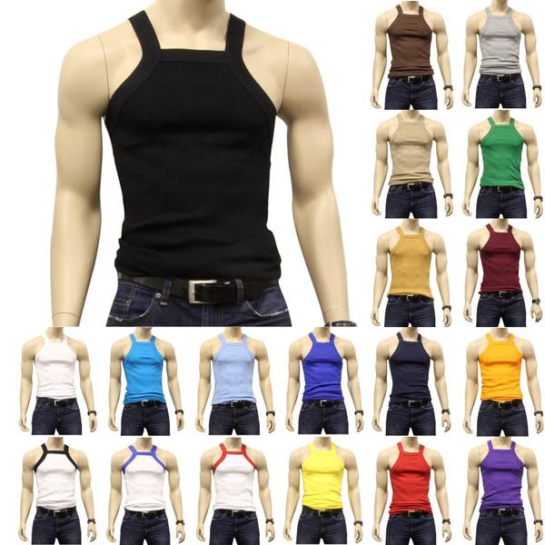 bb15b5fe715b1 USA Seller ) G UNIT Square Cut Ribbed Tank Top Undershirt Underwear ...