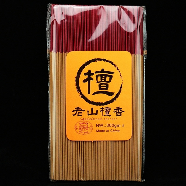 Natural Chinese Sandalwood Buddhist Bamboo Stick incense