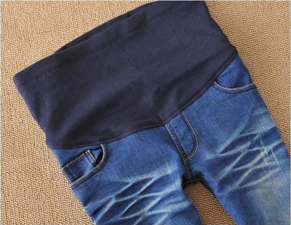 Wish | S M L XL XXL Maternity Jeans Plus Size Elastic High waist ...