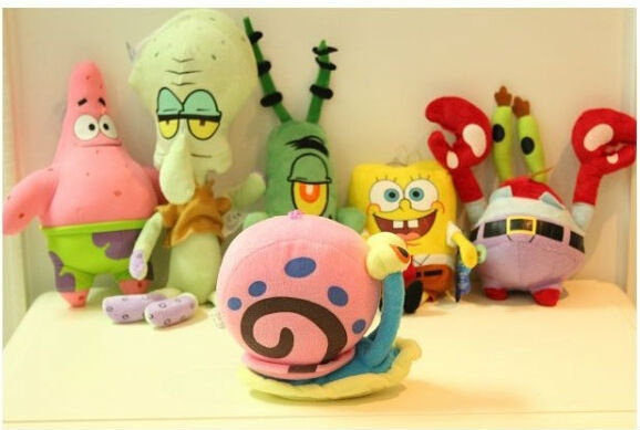 Plush Toys, Toy, Gifts, Sponge Bob