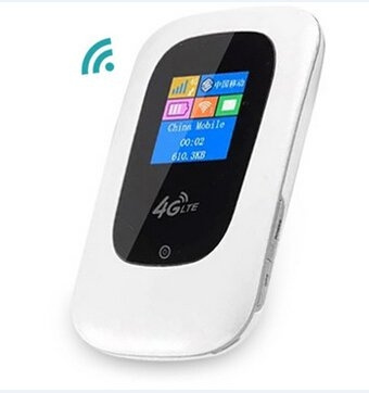 Unlock 100Mbps 4G LTE Router 4G modem wifi router with display screen  LTE-TDD/FDD1800/2100/2300/2600Mhz mini 3G 4G wifi router with SIM Card Slot