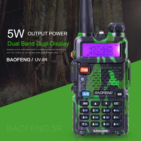 Baofeng UV-5R VHF UHF Dual Band Two Way Radio Walkie Talkie Programming Cable