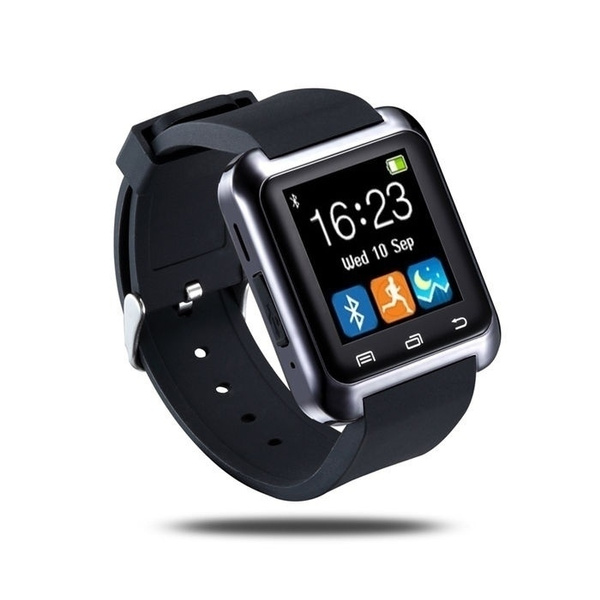 Picture of Bluetooth Smart Watch U80 Wristwatch Phone Mate For Samsung Apple Ios Android Smartphone