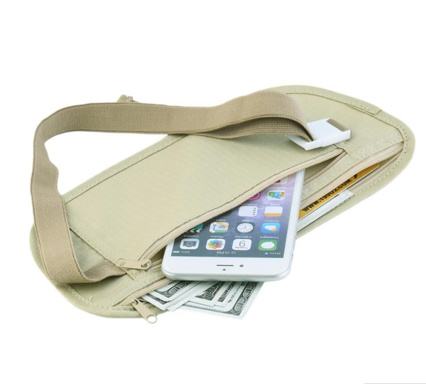 Picture of Travel Security Passport Money Belt Bag Hotsale Packet Useful Fashion Leisure