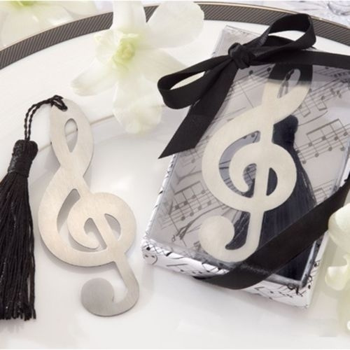 Bookmark Labels, Indexes & Stamps Fashion Music Note Alloy Bookmark Novelty Document Book Marker Label Stationery