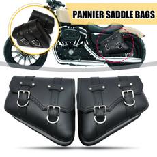 motorcycleluggage, puleathersaddlebag, Harley Davidson, autobikesaddlebag