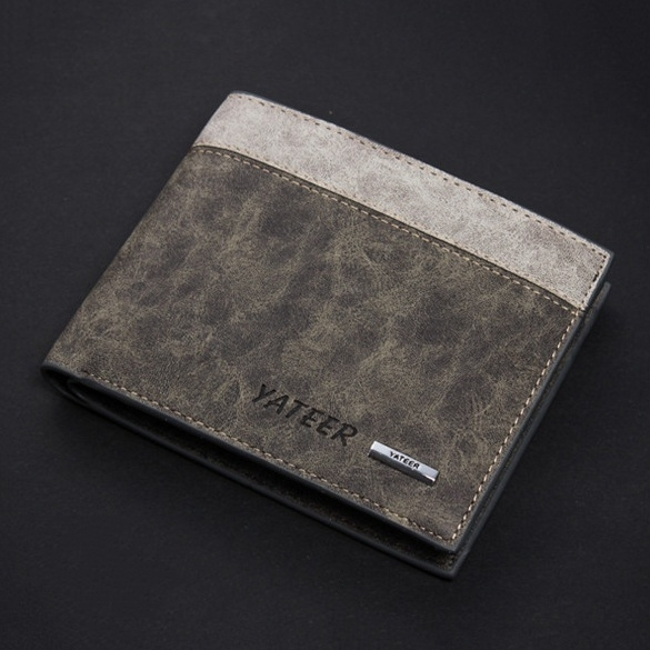 Picture of Fashion Vintage Genuine Leather Short Men Wallets
