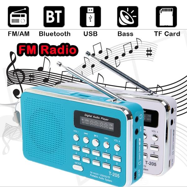Picture of T-205 Portable Hifi Card Speaker Digital Multimedia Loudspeaker Fm Radio