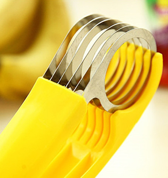 Demarkt Kitchen Accessories Banana Slicer Gadagets