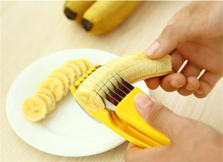 Demarkt Kitchen Accessories Banana Slicer Gadagets
