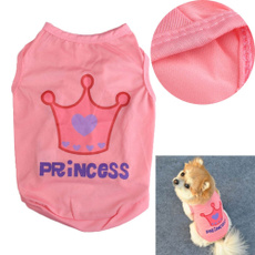 cute, Vest, small pet clothes, Princess