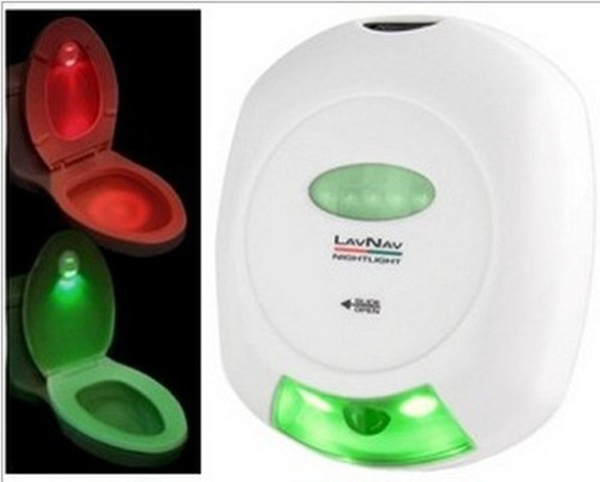 wish led sensor motion activated toilet light bathroom flush toilet lamp night light