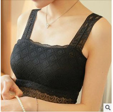 strechstrap, bralet, Lace, Tops