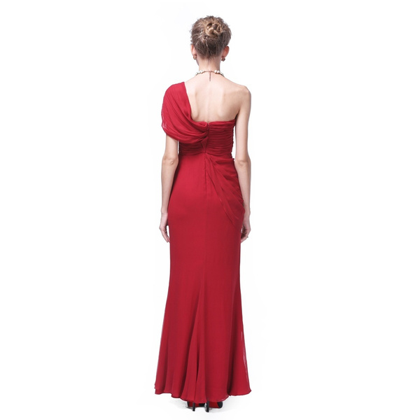 Wish | Damenkleid mit einer Schulter Cocktailkleid festliches Kleid ...