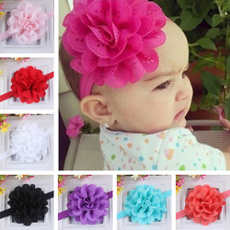 Lovely Baby Accessories Kids Girl Infant Lace Flower Headband Hair Band Headwear