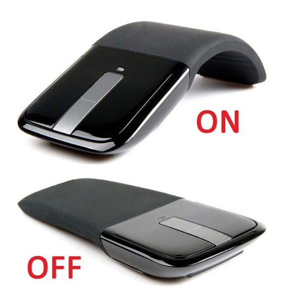 Picture of 2.4ghz Arc Touch Wireless Optical Mouse Mice With Usb Receiver For Pc Laptop New Size 2