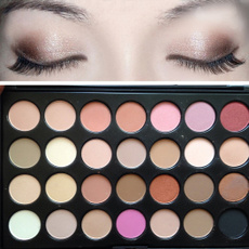 New Professional 28 Color Neutral Warm Eyeshadow Palette Eye Shadow Makeup Hot