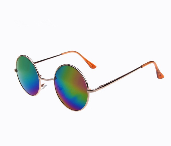 Picture of Unisex Hippie Shades Hippy 60s John Lennon Style Vintage Round Peace Sunglasses