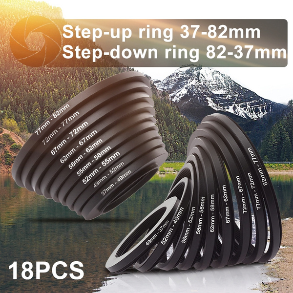 Filteradapter Step-Down Ring 72mm-62mm Adapterring