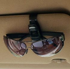 Fashion Accessories Eye Glasses Card Pen Holder Clip Car Vehicle Accessory Sun Visor Sunglasses  Portable Clips