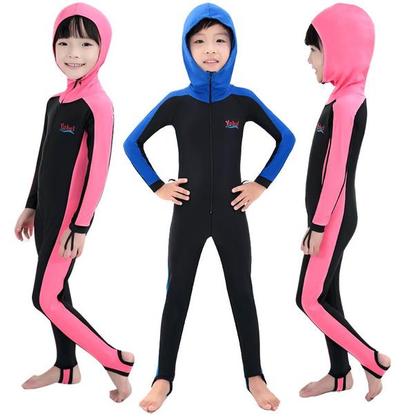 7654d5aec yobel swimming dress Kids boys girls snorkeling clothing children's ...
