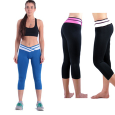 Summer Women sport pants  fitness  leggings patchwork Elastic Comfortable Trousers Casual Soft Yoga Pants only