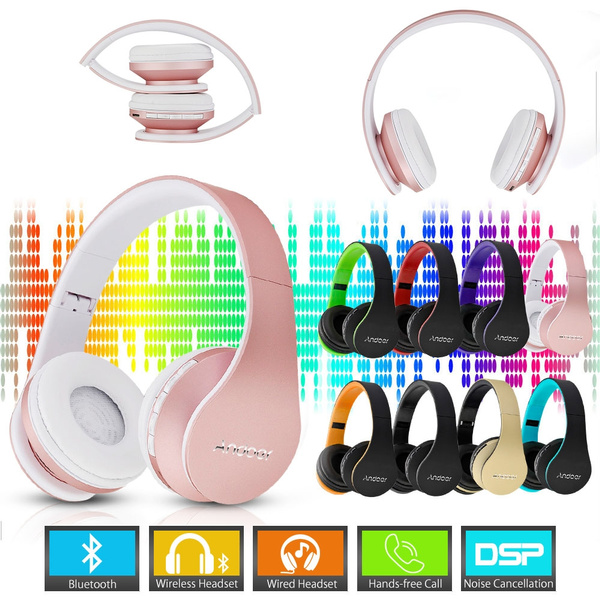 Picture of Digital 4 In 1 Multifunctional Wireless Stereo Bluetooth 4.1 + Edr Headphone Earphone Headset Wired Earphone With Mic Mp3 Player Microsd / Tf Music Fm Radio Hands-free For Smart Phones Tablet Pc Notebook