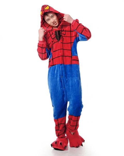 Adult spider-man pajamas pjs