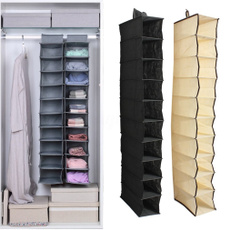 wardrobehangingbag, wardrobeorganiser, Home & Living, Beige