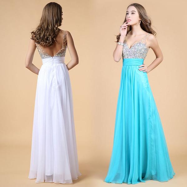 Wedding Prom Dresses 2015 Red Carpet Dresses Fashion Sequins Slimming Plus  Size Evening Dresses Women Maxi Dress