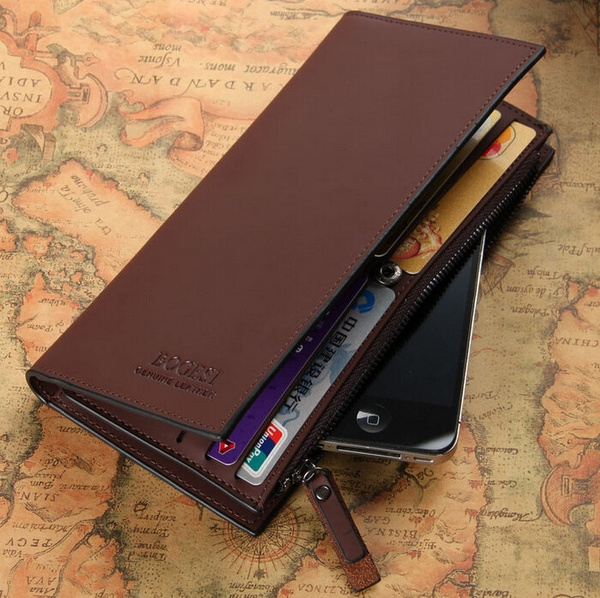 Picture of Leather Men's Wallets Wholesale Leather Purse Long Leather Wallets