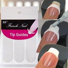 nail stickers, nail tips, Beauty, frenchnail