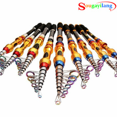 2017 NEW Fishing Rod Two Styles Six Sizes 99% Carbon Fiber Telescopic Rods Tackle Pesca